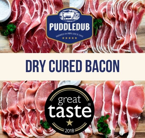 Great Taste Award Dry Cured Smoked Bacon