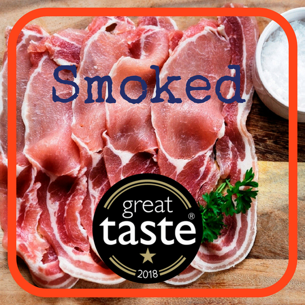 Dry Cured Smoked Middle Bacon