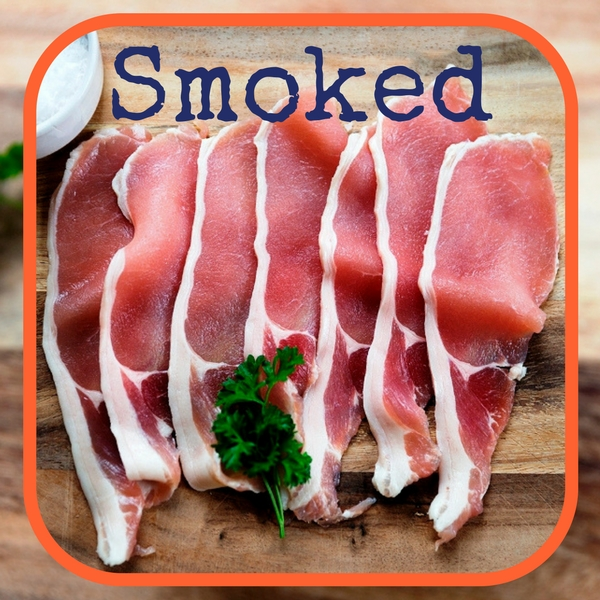 Back bacon smoked