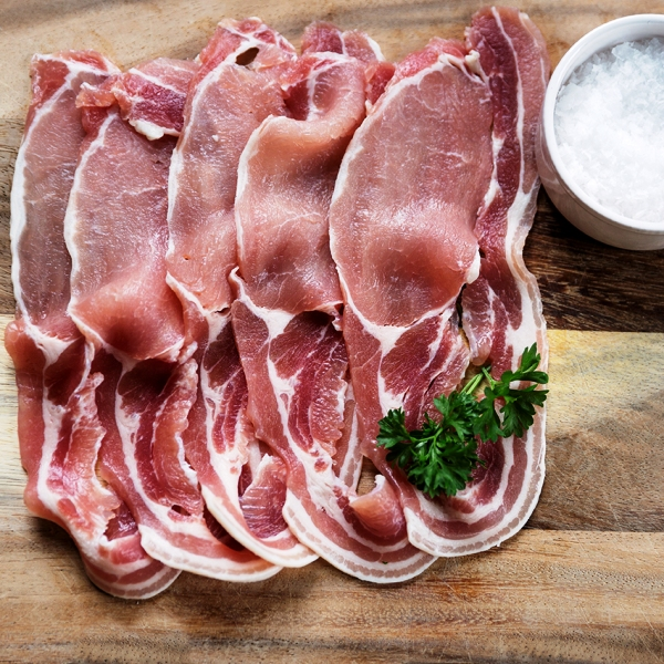 Middle Bacon 5 x 200g packs
