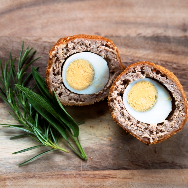 Scotch Egg (garlic and spicy)