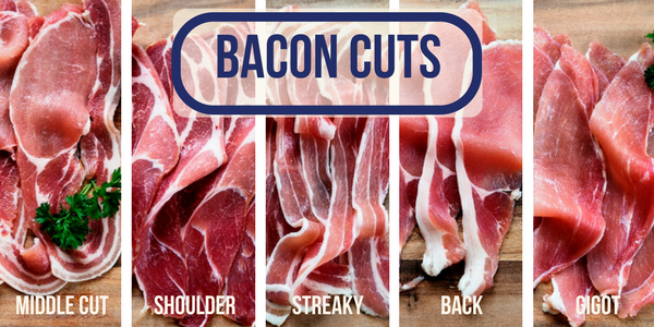 What's the difference between the different bacon cuts?