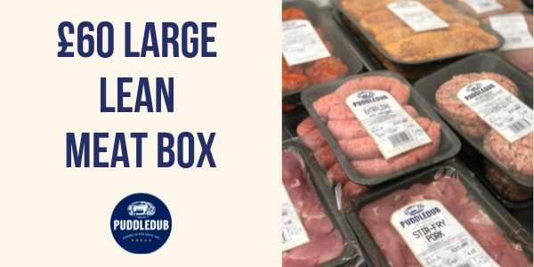 Large Lean £60 Meat Box
