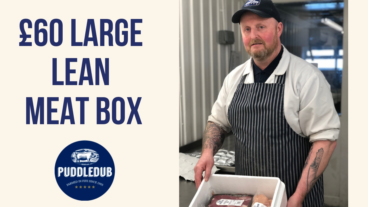 Introducing our Large Lean £60 Meat Box