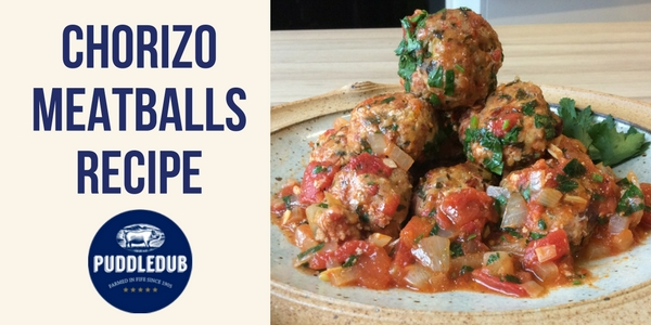 Pork and Chorizo Meatballs