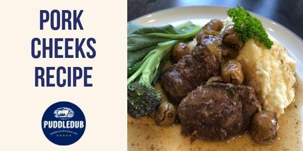 Pork Cheeks Recipe Idea
