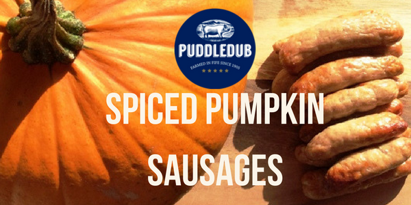 Spiced Pumpkin & Pork Sausages