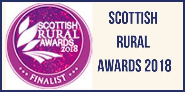 Scottish Rural Awards Finalist in Artisan Food Category