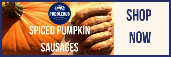 Shop Spiced Pumpkin Sausages now