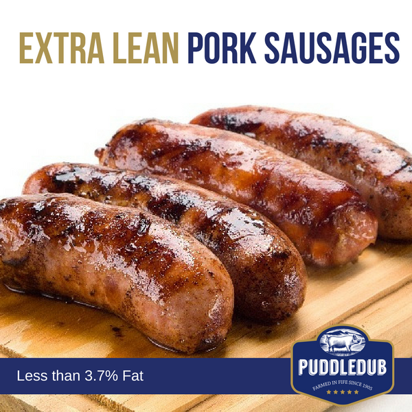 Extra lean Pork Sausages