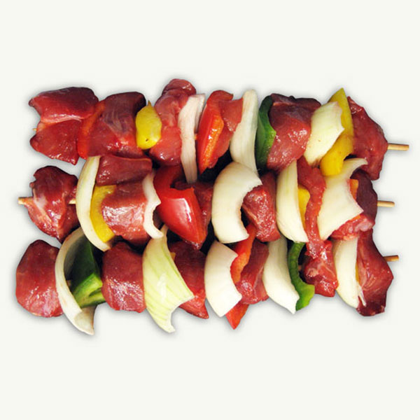 Lamb skewers (plain) pack of 4