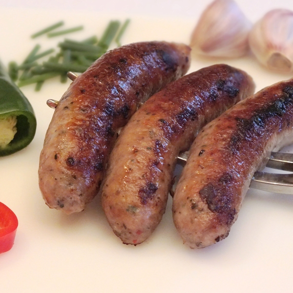 Nicely Spiced Pork Sausages
