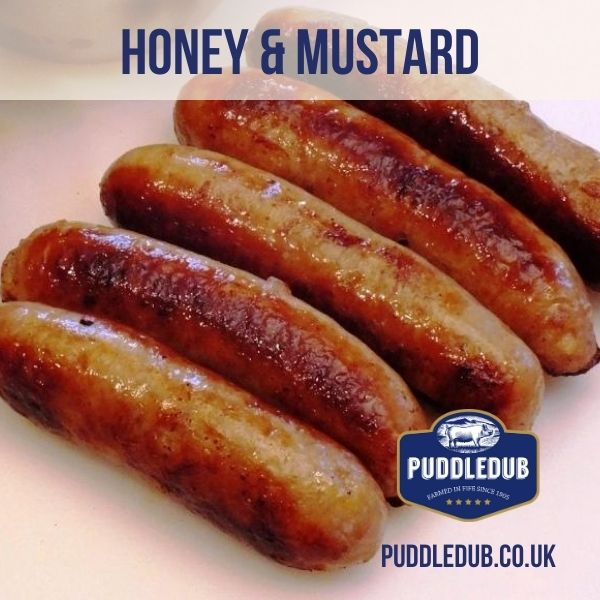 Honey and Mustard Sausages (gluten free)