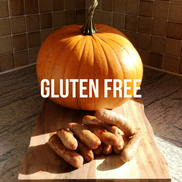 Spiced Pumpkin Sausages (gluten free)